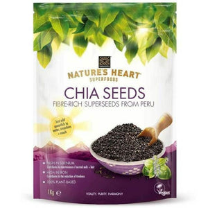 Natures Heart | Chia Seeds | 1 x 200g | Natures Heart