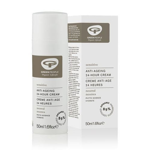 Green People | Neutral Scent Free 24 Hour Cream | 1 x 50ml