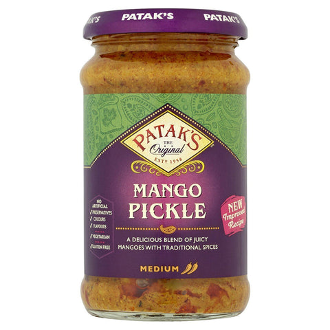 Pataks | Mango Pickle - Medium | 1 x 283 G