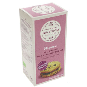 Honeyrose | All Butter Oat & Raisin Cookie | 1 x 115g | Honeyrose