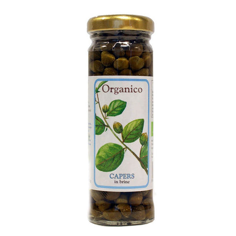 Organico | Capers | 1 X 100g. This Product Is :- Vegan,organic