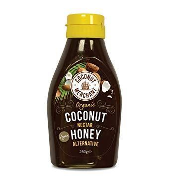 Coconut Merchant | Organic Vegan Squeezy Nectar Honey | 1 x 250g