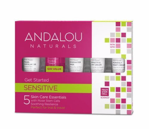 Andalou | 1000 Roses Get Started Kit | 1 x 5 Pieces