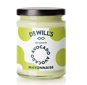 Dr Will's Limited | Dr Wills  All Natural Avocado Mayonnaise | 1 x 240g | Dr Will'S Limited