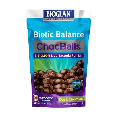 Bioglan | Biotic Balance Dark Chocballs (adults) | 1 x 30s