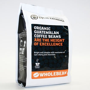 Equal Exchange | Guatemalan Og Coffee Beans | 1 X 227g. This Product Is :- Vegan,organic