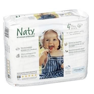 Nature Baby Naty Ab | Nappies - Size 4 Medium | 1 x 32s