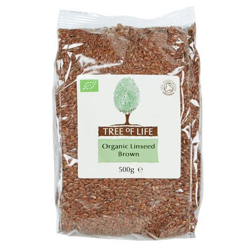Tree Of Life | Organic Linseed - Brown | 1 x 500g