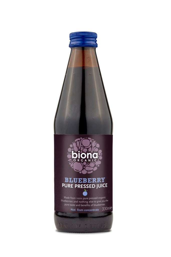 Biona | Organic Blueberry Juice | 1 x 330ml