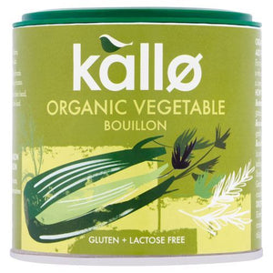 Kallo | Vegetable Stock Powder - Organic | 1 x 100g | Kallo