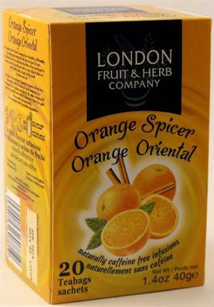 London Fruit & Herb Co | Orange Spicer | 1 x 20bags | London Fruit & Herb Co