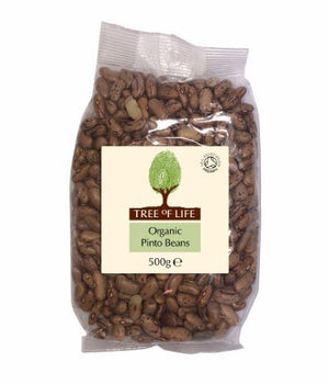 Tree Of Life | Organic Pinto Beans | 1 x 500g
