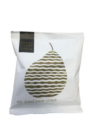 Perry Court Farm | Air Dried Pear Crisps | 24 X 20g. This Product Is :- Gluten Free,vegan,dairy Free