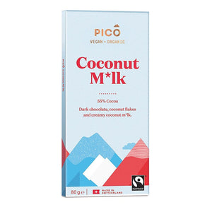 Pico | Organic Coconut M*lk Chocolate | 1 X 80g. Sold By Superfood Market