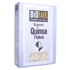 Biofair | Quinoa Flakes Organic | 1 X 400g. This Product Is :- Organic,fairtrade
