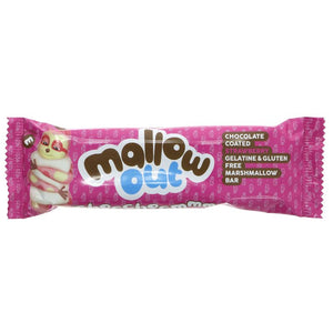 Freedom Confectionery | Mallow Out Bar Strawberry | 1 x 40g | Freedom Confectionery