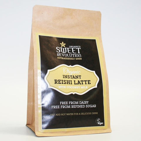 Sweet Revolution | Organic Instant Reishi Chai Latte | 1 X 200g. Sold By Superfood Market