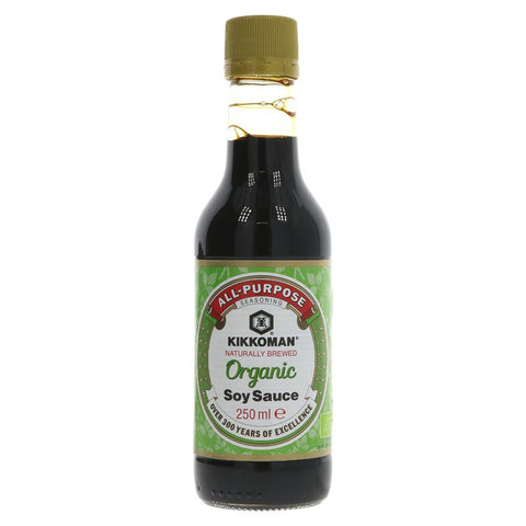 Kikkoman | Organic Soy Sauce | 1 X 250ml. This Product Is :- Vegan,organic