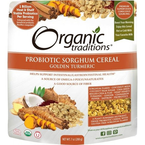 Organic Traditions | Cereal Golden Turmeric | 1 X 200g. Sold By Superfood Market