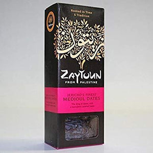 Zaytoun | Palestinian Medjoul Dates | 1 X 250g. This Product Is :- Vegan,fairtrade