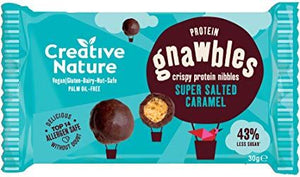Creative Nature | Salted Caramel Protein Gnawbles | 1 x 30g | Creative Nature