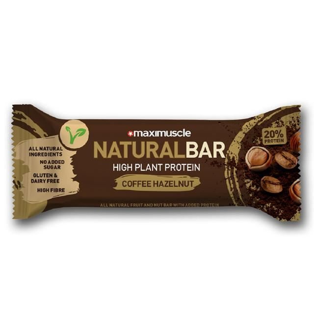 Maximuscle | Natural Bar - Coffee & Hazelnut Flavour | 1 x 40g