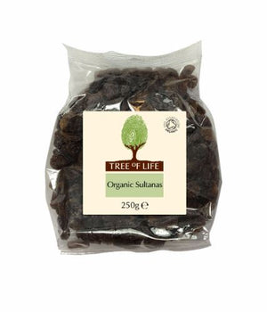 Tree Of Life | Organic Sultanas | 1 x 250g