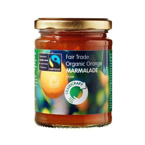 Traidcraft | Organic Orange Marmalade | 1 X 340g. This Product Is :- Vegan,organic,fairtrade