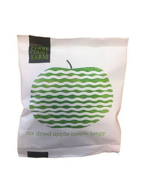 Perry Court Farm | Air Dried Tangy Apple Crisps | 24 X 20g. This Product Is :- Gluten Free,vegan,dairy Free