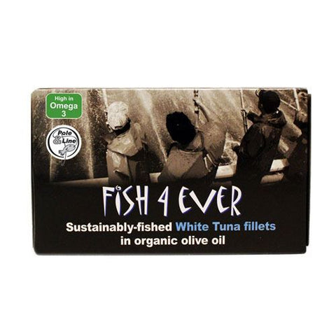 Fish 4 Ever | Tuna Fillet In Organic Olive Oil | 1 x 220g