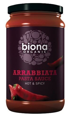 Biona | Arrabiata - Hot & Spicy Pasta Sauce | 1 x 350g