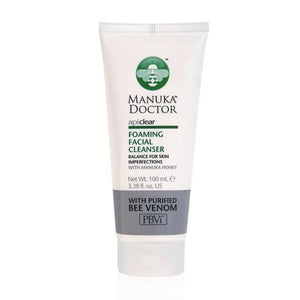 Manuka Dr | Apiclear Foaming Facial Cleanser | 1 x 100ml | Manuka Dr