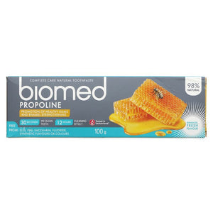 Biomed | Toothpaste - Propoline | 1 x 100g | Biomed