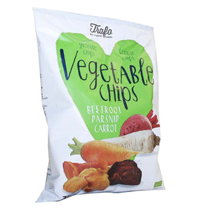 Trafo | Vegetable Chips | 12 X 75g. This Product Is :- Vegan,organic