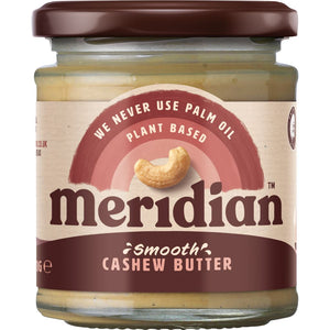 Meridian | Cashew Butter Smooth | 1 x 170g | Meridian