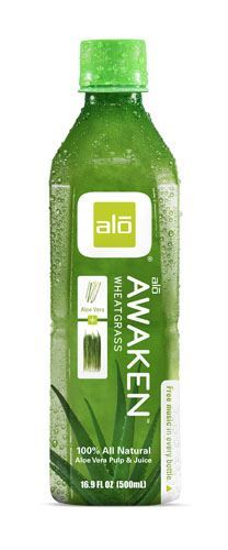 Alo | Alo Awaken - Aloe & Wheatgrass | 1 x 500ml | Alo