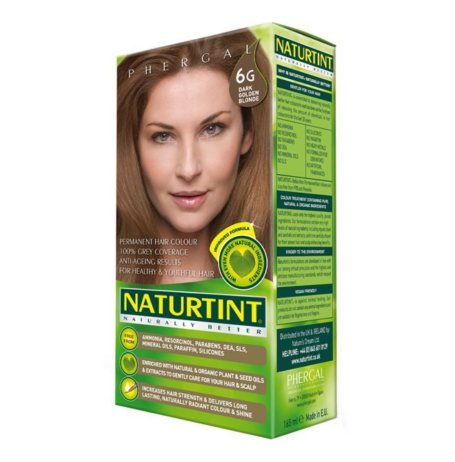 Natures Dream Ltd A | Naturtint  6g Dark Gold Blonde | 1 x 170ml