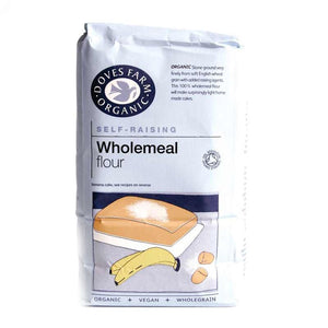 Doves Farm | Self Raising Wholemeal Flour | 1 x 1kg | Doves Farm
