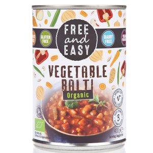 Free & Easy | Vegetable Balti - Og | 1 x 400g