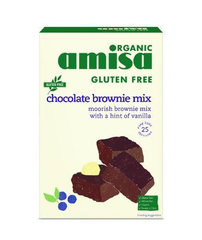 Amisa | Chocolate Brownie Mix - Gluten Free | 1 x 400g