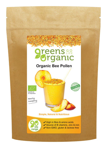 Golden Greens Organic | Organic Bee Pollen | 1 X 200g. Sold By Superfood Market