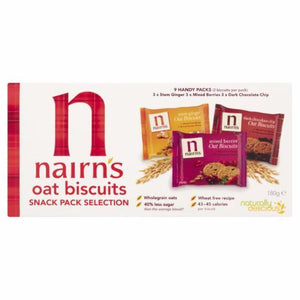 Nairns | Snack Portion Selection Pack | 12 x (30g x 9) | Nairns