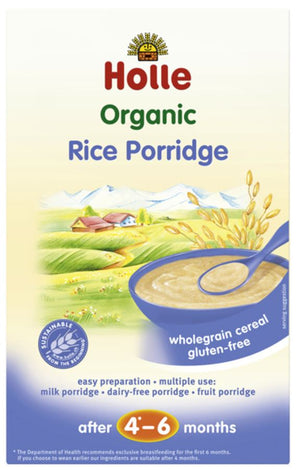 Holle | Organic Rice Porridge 4-6m+ | 1 x 250g | Holle