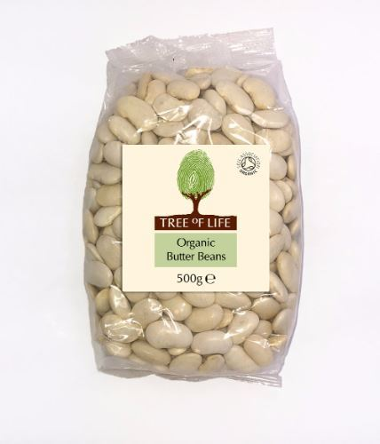 Tree Of Life | Organic Butter Beans | 1 x 500g