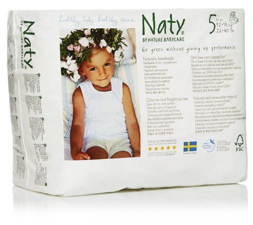 Nature Baby | Nappy Pants - Junior Size 5 (26-40lbs) | 1 x 20s