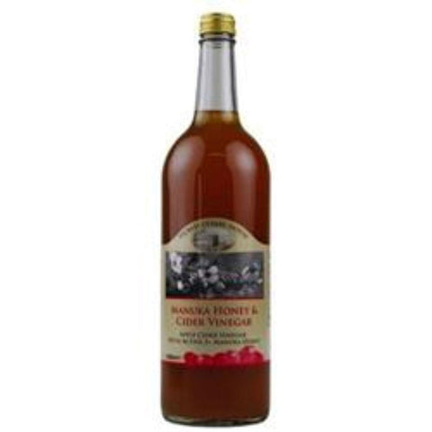 Picklecoombe House | Raw Organic Honey & Apple Cider Vinegar With Mother | 1 X 1ltr. Sold By Superfood Market