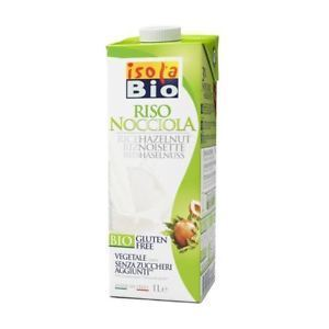 Isola Bio | Organic Rice & Hazelnut Drink | 1 x 1ltr