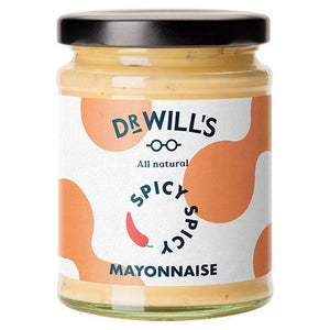 Dr Will's Limited | Dr Wills  All Natural Spicy Mayonnaise | 1 x 240g | Dr Will'S Limited