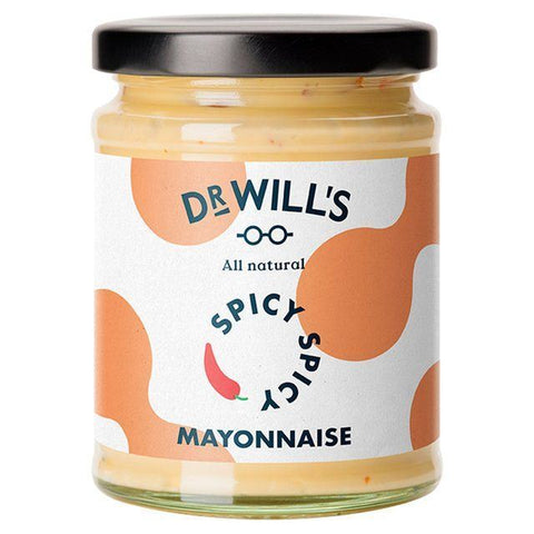 Dr Will's Limited | Dr Wills  All Natural Spicy Mayonnaise | 1 x 240g