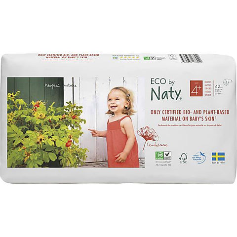 Specialist Foods Ltd A | Nature Baby  Nappies Economy Pack - Size 4+ | 1 x 42s